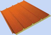 Полиуретанови сандвич панели (термопанели) - Покривни сандвич панели RPU от KAMARIDIS GLOBAL WIRE SA 01